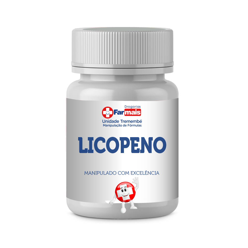 LICOPENO 15MG 60 CÁPSULAS
