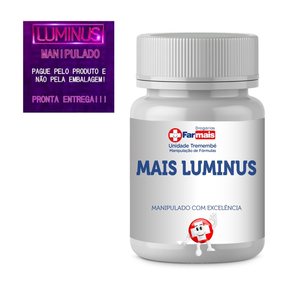 LUMINOUS HAIR MANIPULADO 120 CÁPSULAS + BASE ESMALTE FORTE + FRETE GRATIS