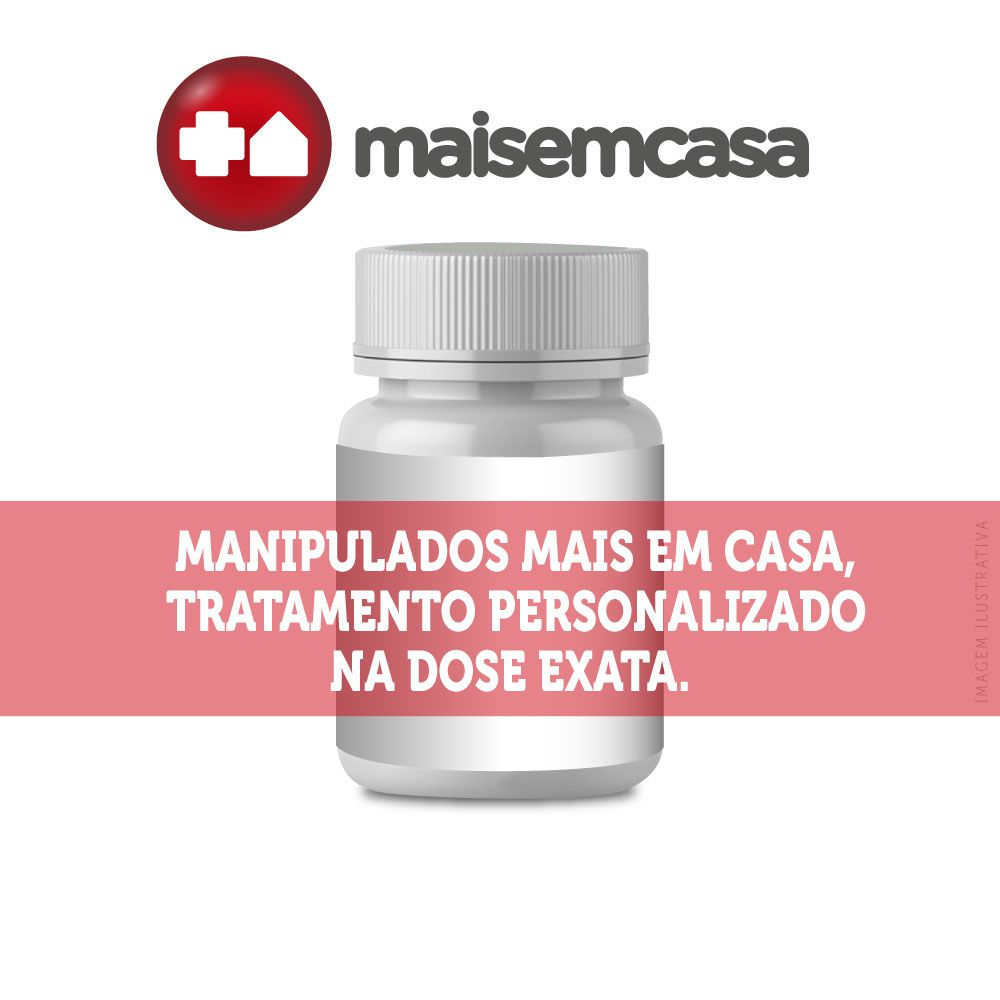 Luminous Mais Hair Manipulado com 120 cápsulas + Base Esmalte Forte 10ml