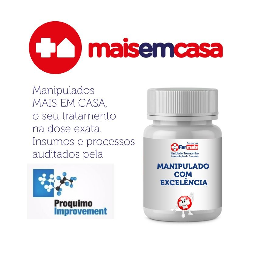 LUMINUS HAIR MANIPULADO  - 4x90 (360 Cáps) Não Pague Embalagem