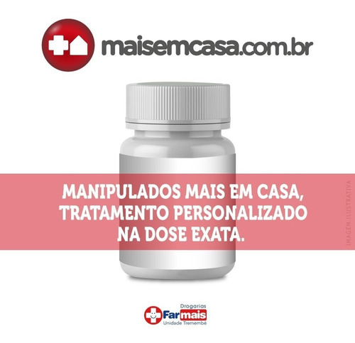 Magnésio Citrato 500mg Manipulado 120 Cápsulas