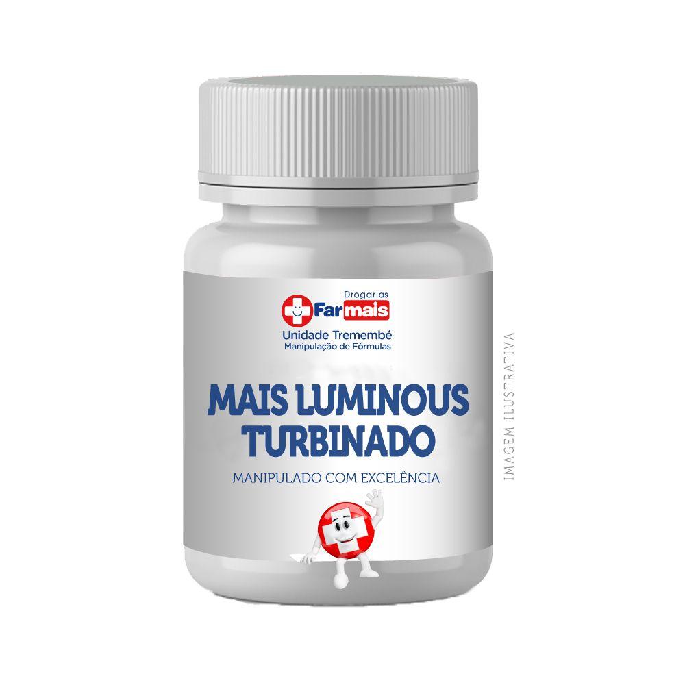 Mais Luminous Turbinado (silício e selênio orgânico + queratina) 30 cápsulas