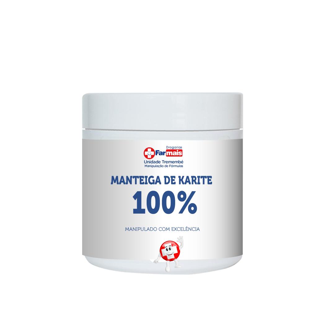 MANTEIGA DE KARITE 100% PURA 50G