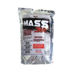 MASS 3K (MASSA HIPERCALÓRICA) 3KG MORANGO