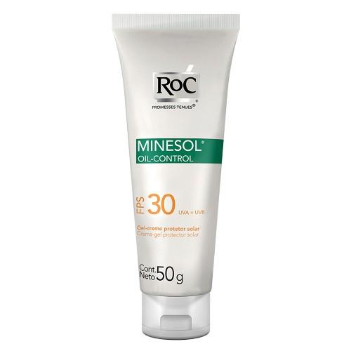 Minesol oil control gel creme toque seco 30FPS 50g