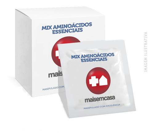 - Mix Aminoacidos Essenciais 12gr Top 125 Sachês