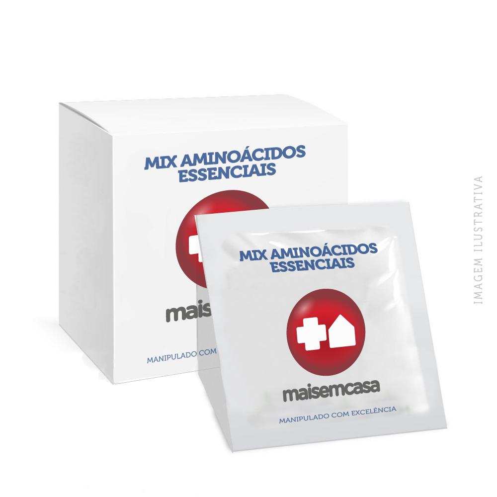 MIX AMINOÁCIDOS ESSENCIAIS TOP - COM 90 SACHÊS
