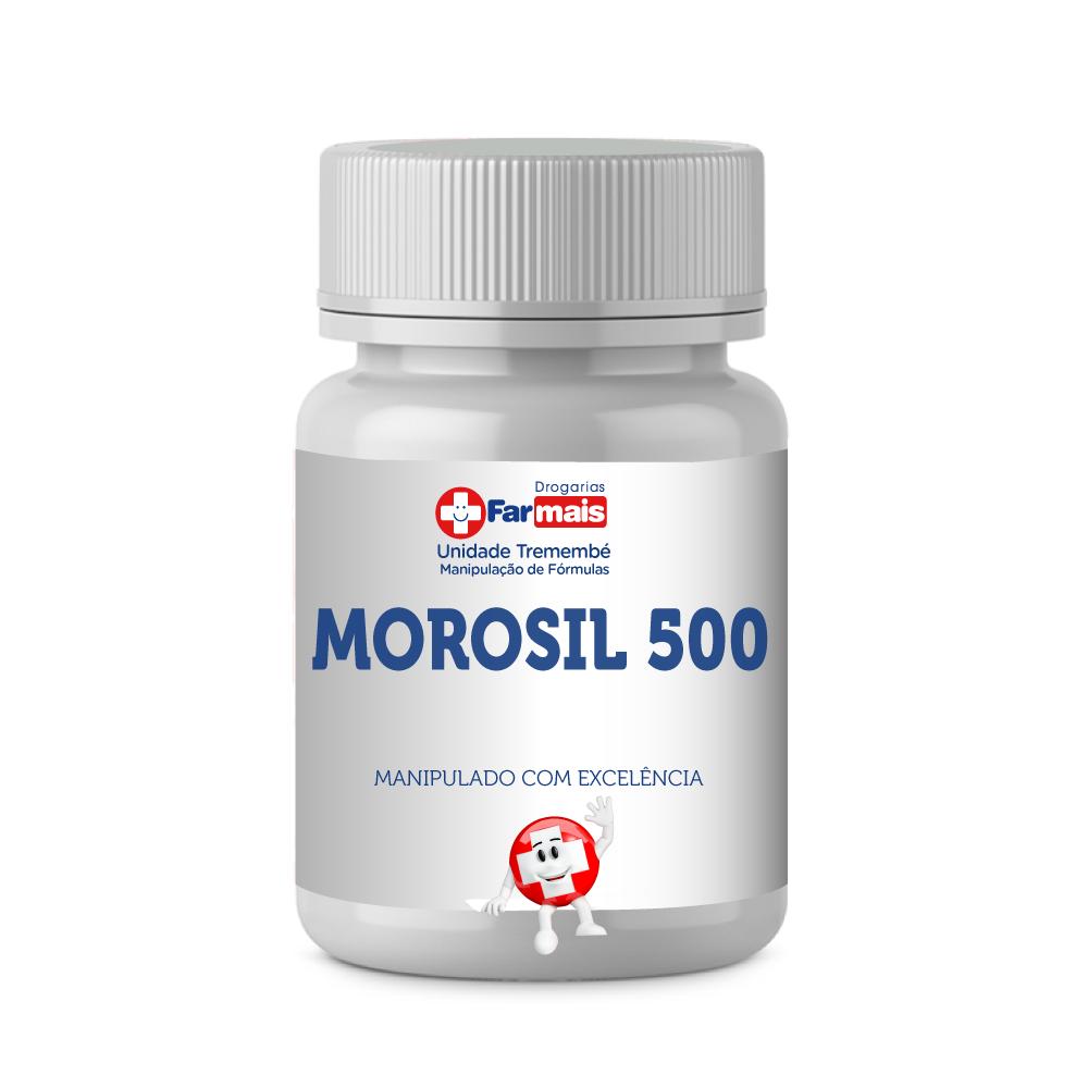 MOROSIL 500 AUTÊNTICO PARA GORDURA ABDOMINAL C/ 30 CÁPSULAS