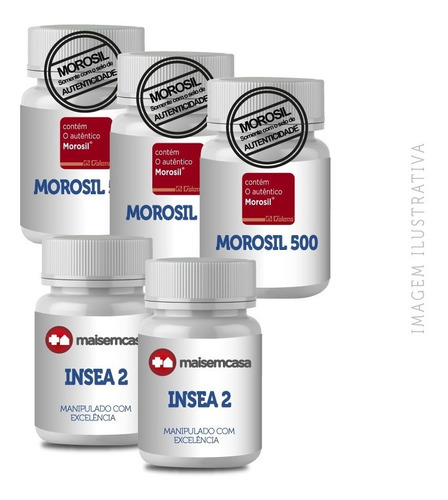 - Morosil® 500 Mg 3x30 Insea2® 250mg 2x30 Cp