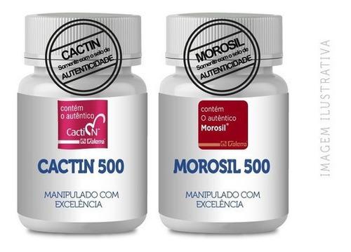 Morosil 500mg 30 Cp + Cactin 500mg 30 Cp Selo Galena