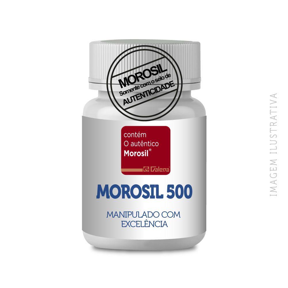 Morosil 500Mg 60 Capsulas - Selo Autêntico Galena