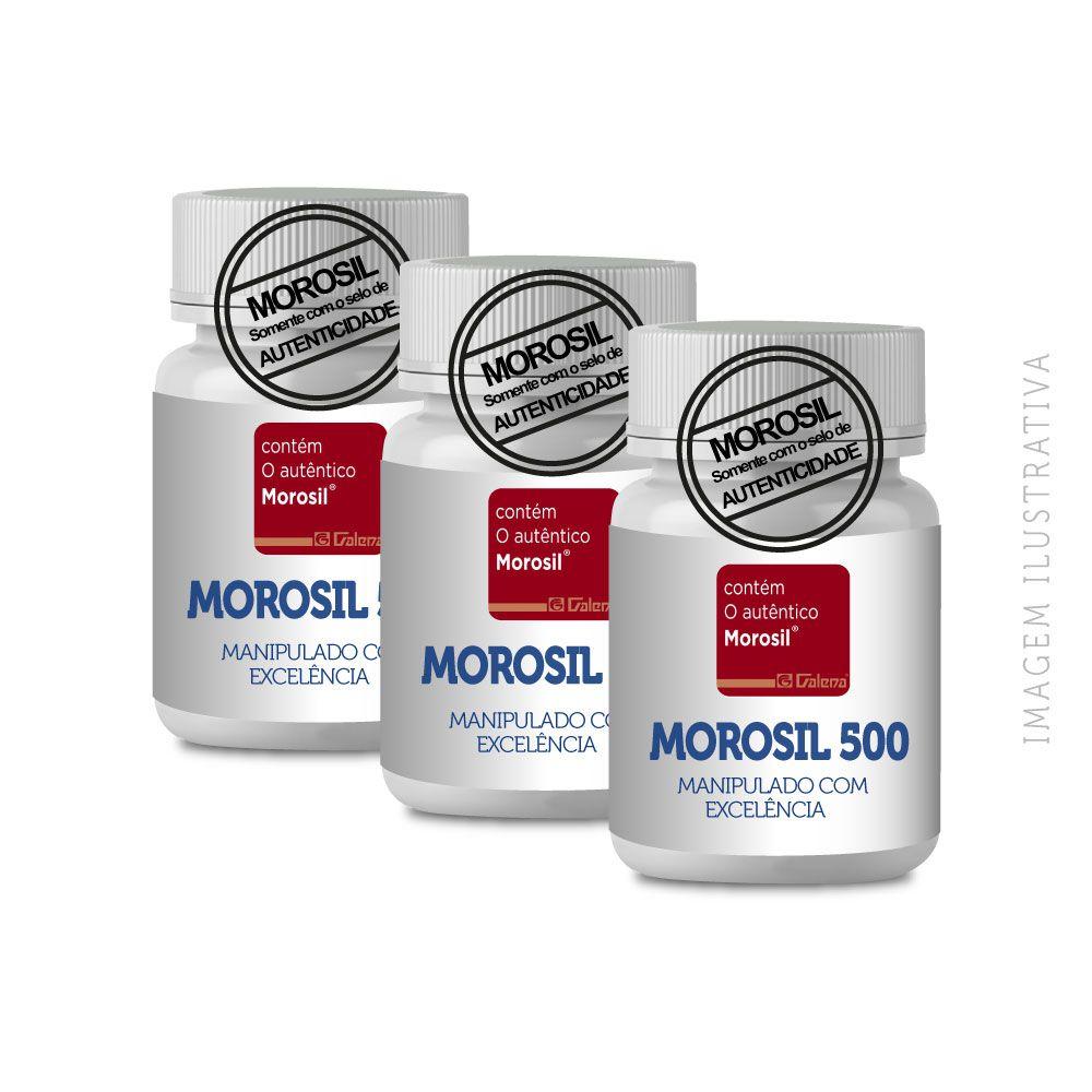 Morosil 500Mg 90 CP (3 Potes com 30Cp)