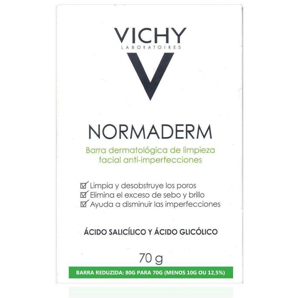 NORMADERM SABONETE EM BARRA 70 G  VICHY