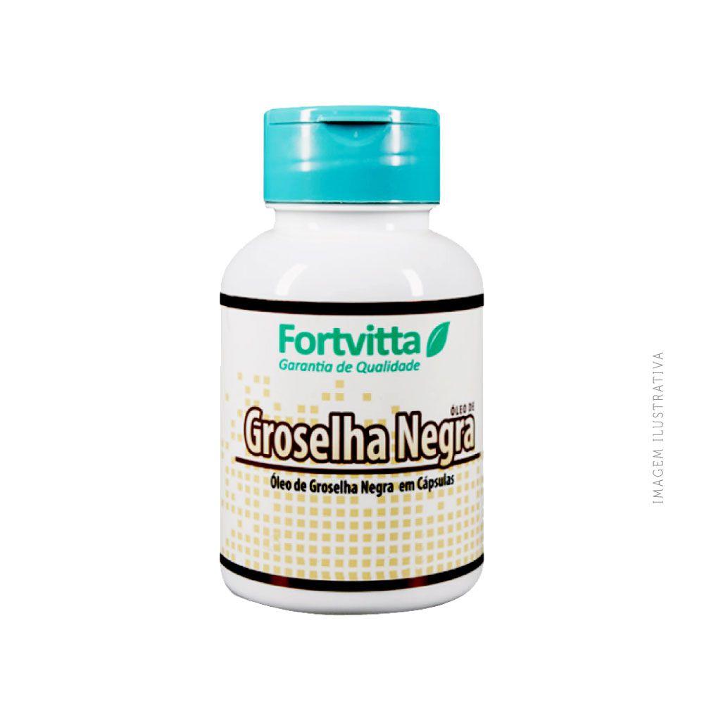 Óleo de groselha negra 500mg 120 cápsulas - Fortvitta