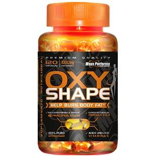 OXY SHAPE - HELP BURN BODY FAT 120 CÁPSULAS 1000 MG