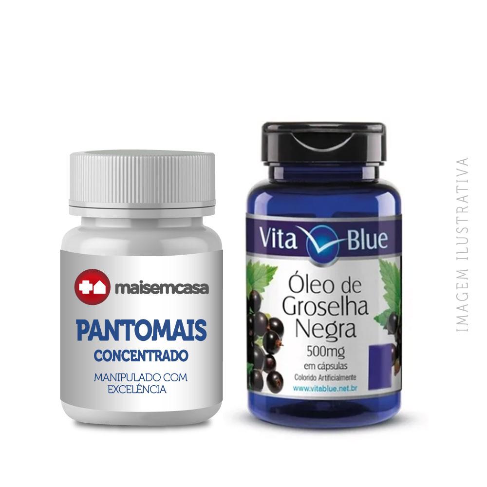Pantomais Fórmula Concentrada - 90 Cápsulas + Groselha Negra 500mg - 60 Cápsulas