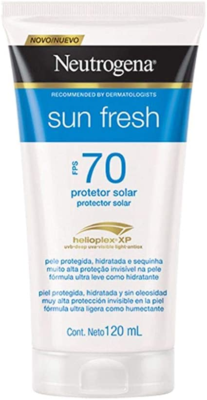 PROTETOR SOLAR NEUTROGENA SUN FRESH 70 FPS 120 ML