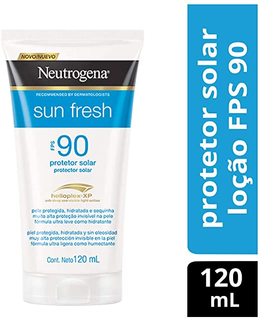 PROTETOR SOLAR NEUTROGENA SUN FRESH 90 FPS 120 ML