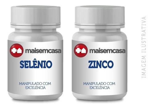 Selênio 250mcg + Zinco 60mg - 90 Cápsulas (2 Embalagens)