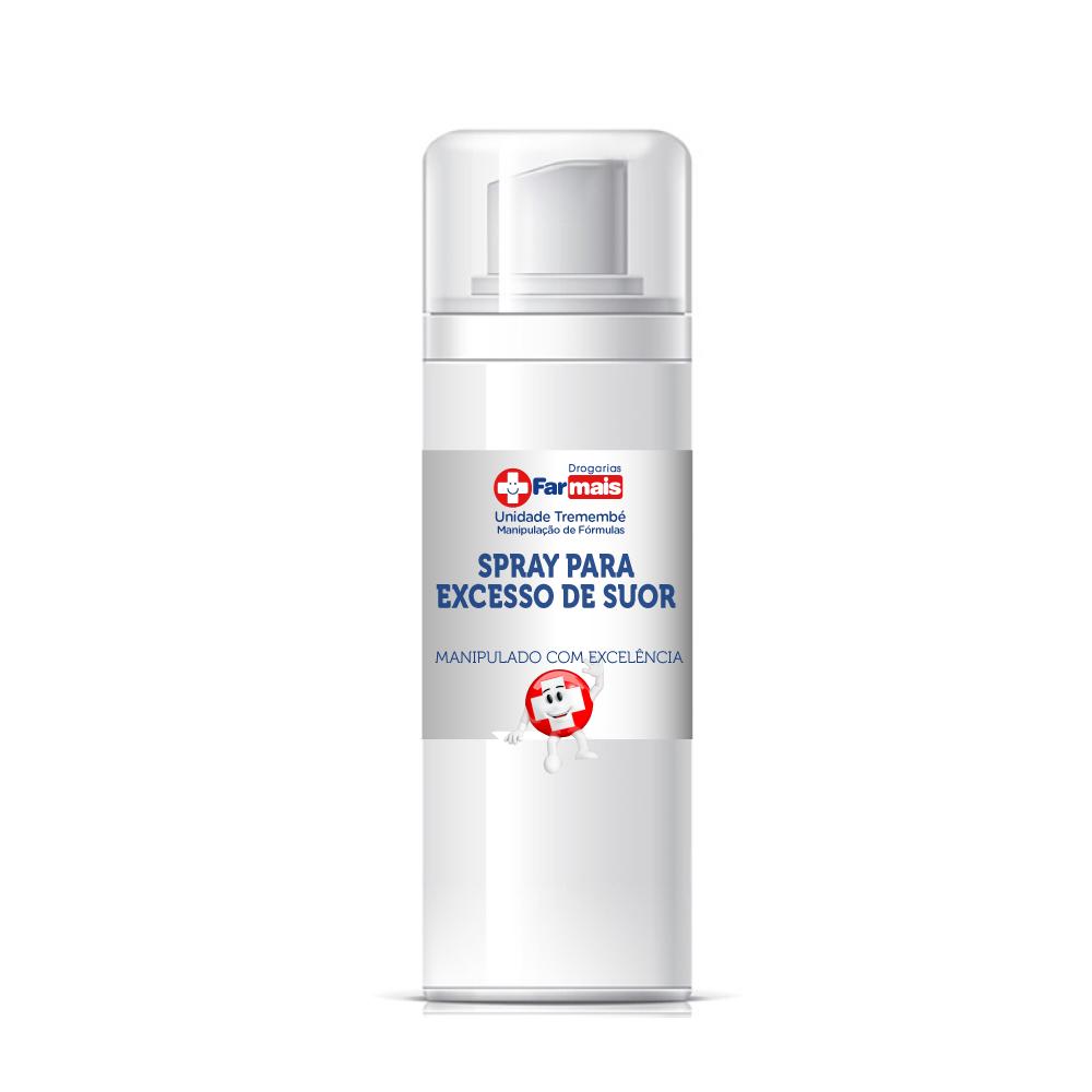 Spray para excesso de suor (controle da sudorese) - 140ml