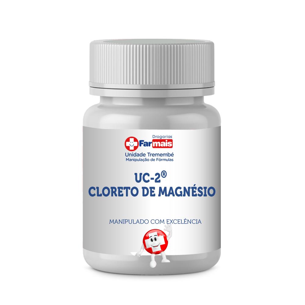 UC-2® (COLÁGENO TIPO 2) 40MG + CLORETO DE MAGNÉSIO 200MG CÁPSULAS