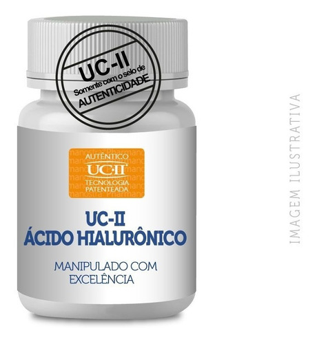 Uc II 40mg Uc 2 Tipo 2 + Ácido Hialurônico 100mg 90 Cápsulas
