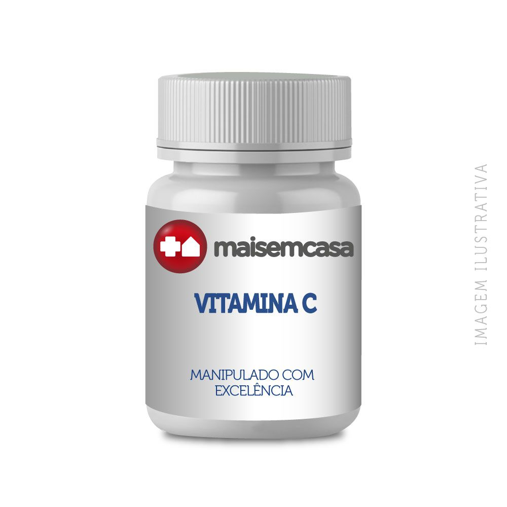 Vitamina C 500mg, com 120 cápsulas