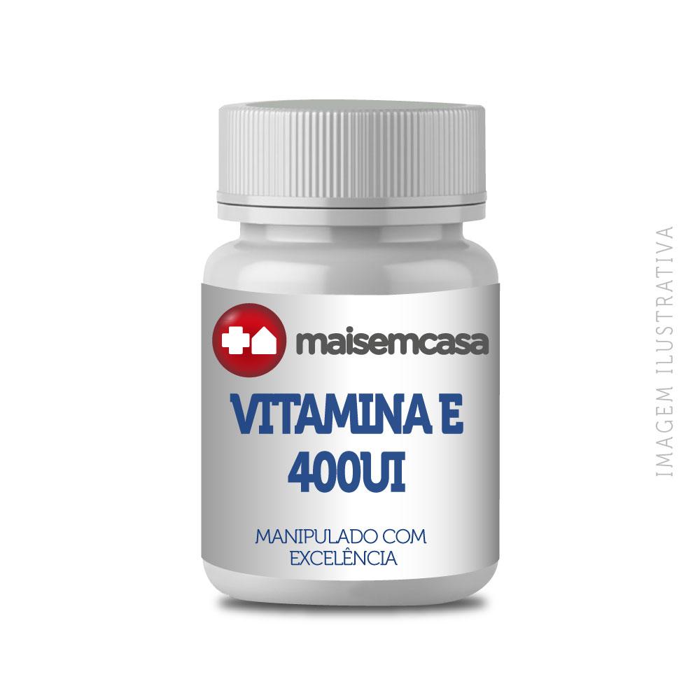 Vitamina E 400UI - Cápsulas