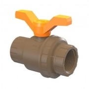 Registro Esfera Roscavel PVC