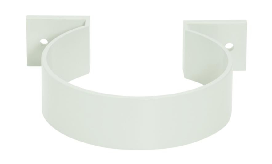 Abracadeira PVC Circular Pluvial Cinza