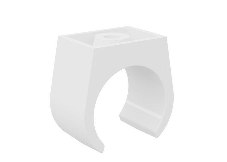 Abracadeira Roscavel PVC