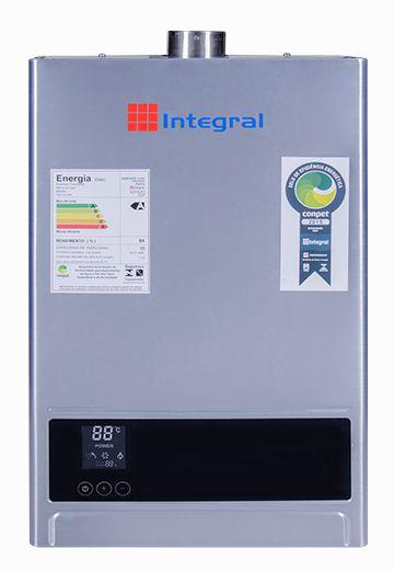 Aquecedor de Água a Gas 15L Integral Exaustão Forçada e Digital