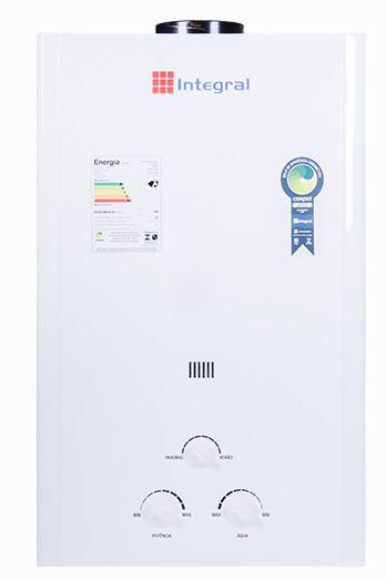 Aquecedor de Água a Gas 20L .Integral Exaustão Natural