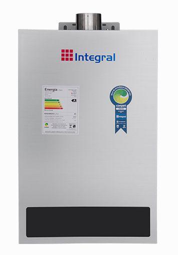 Aquecedor de Água a Gas 24L Integral Exaustão Forçada e Digital
