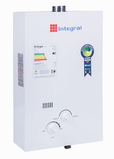 Aquecedor de Água a Gas .8L .Integral Exaustão Natural