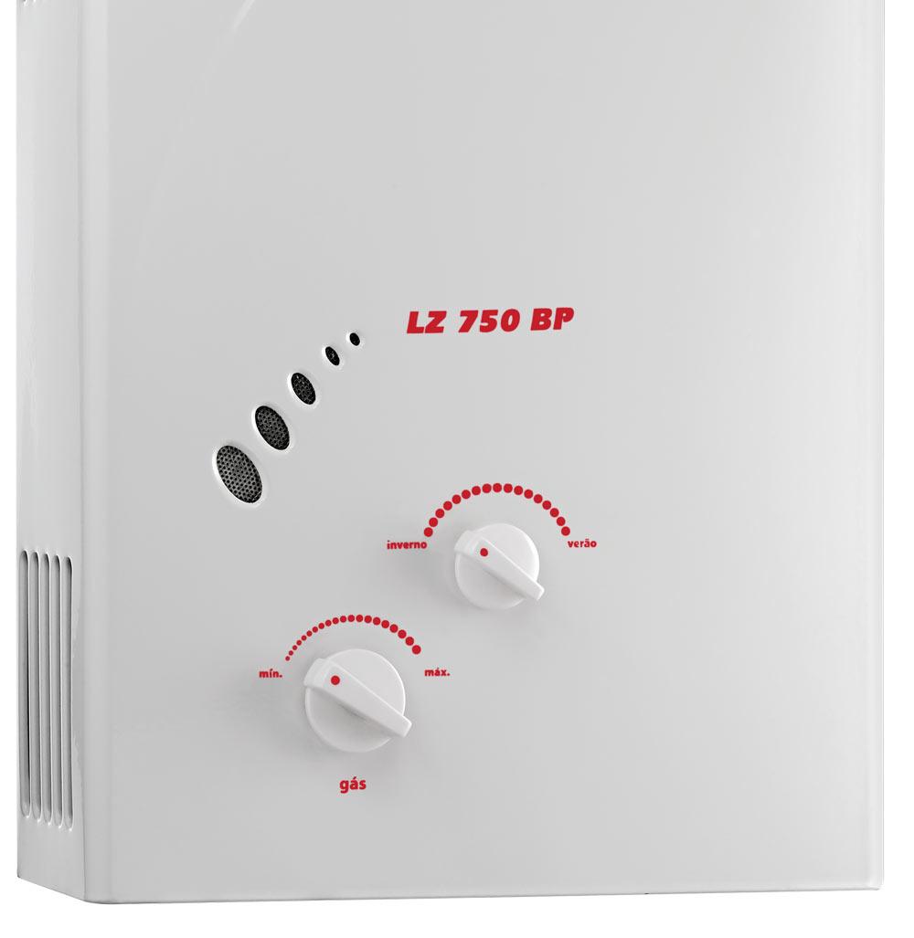 Aquecedor .de Agua a Gas LZ-750 BP (GN) - Lorenzetti