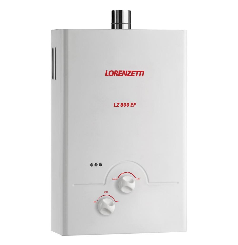 Aquecedor .de Agua a Gas LZ-800 EF (GN) - Lorenzetti