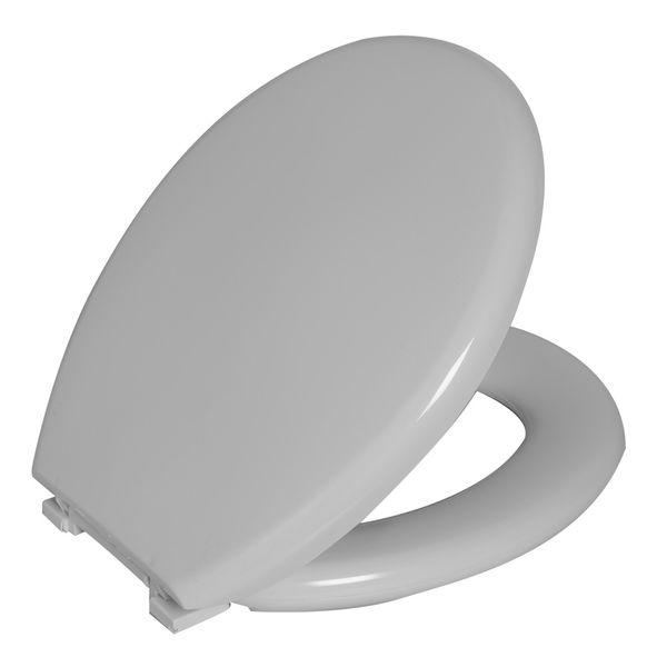 Assento Sanitario Astra Oval Almofadado Perfumado TPKP - Branco 1 (BR1)