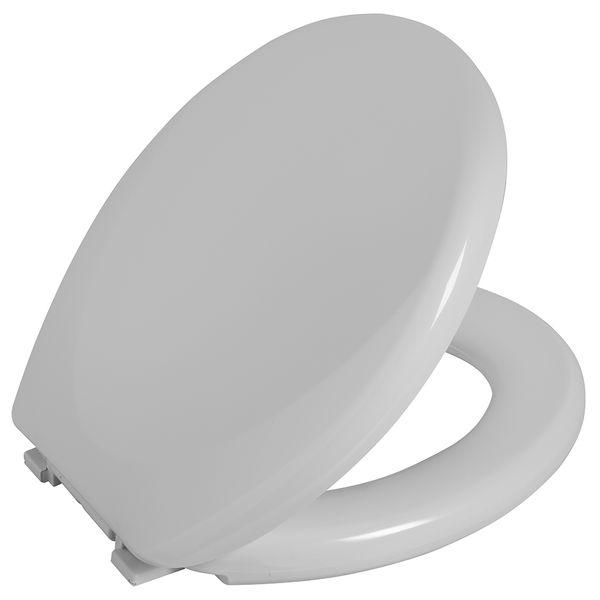 Assento Sanitario Astra Oval Almofadado Reforçado TAR/AS - Branco 1 (BR1)