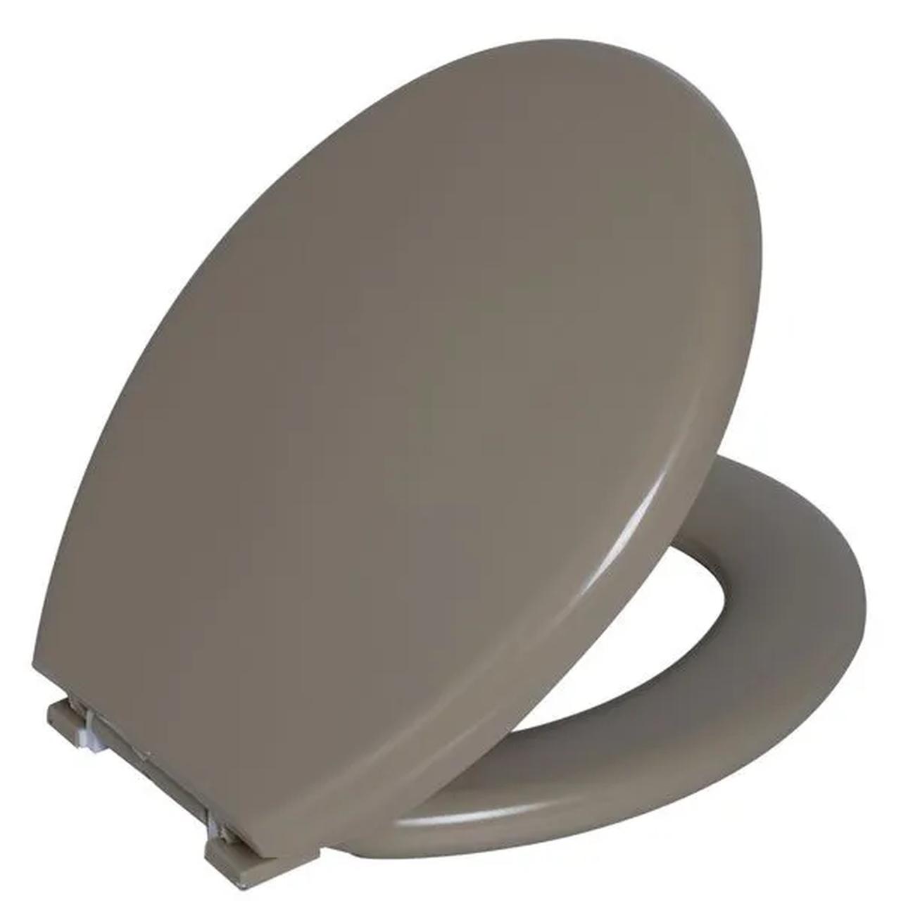 Assento Sanitario Astra Oval Almofadado TPK/AS - Bege 2 (BG2)