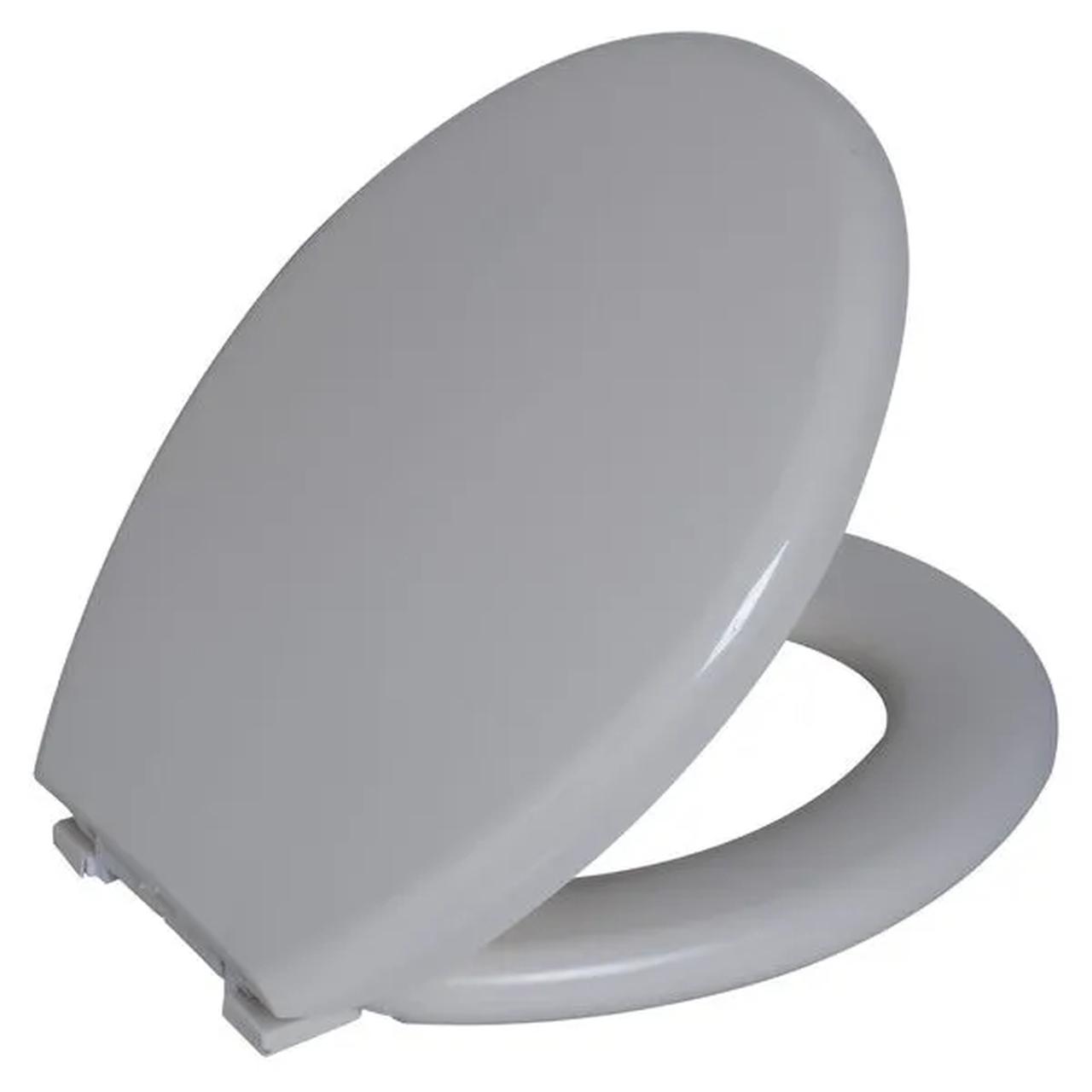 Assento Sanitario Astra Oval Almofadado TPK/AS - Bege 8 (BG8)