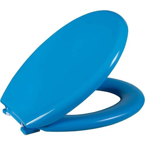Assento Sanitario Astra Oval Almofadado TPK/AS - Blueberry (BBR)