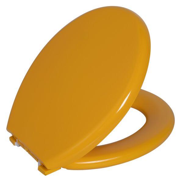 Assento Sanitario Astra Oval Almofadado TPK/AS - Maracujá (MRC)