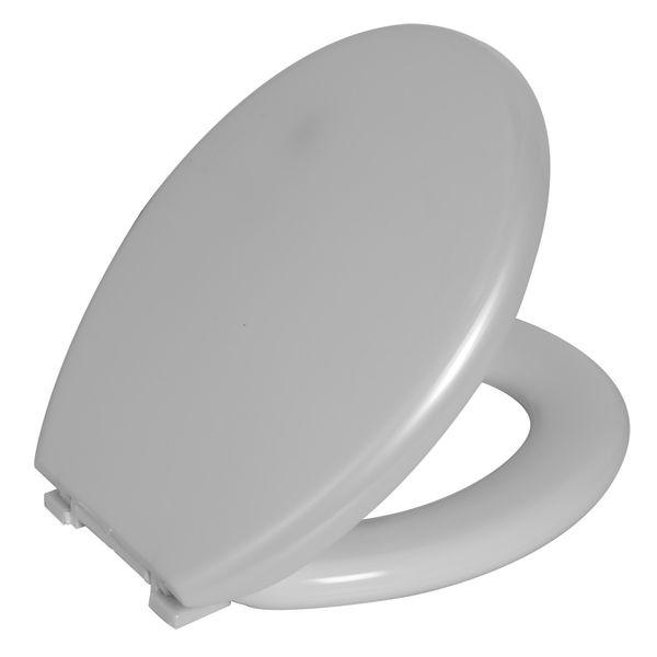 Assento Sanitario Astra Oval Almofadado TPK/AS - Perolado (PER)