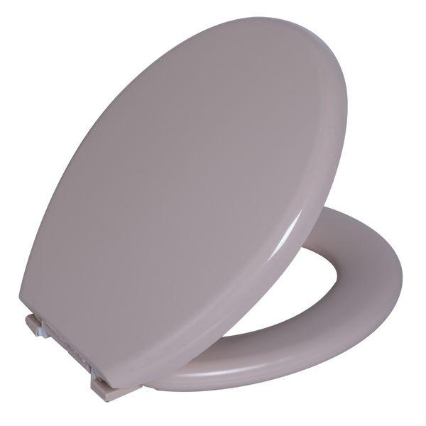 Assento Sanitario Astra Oval Almofadado TPK/AS - Salmão 1 (SL1)
