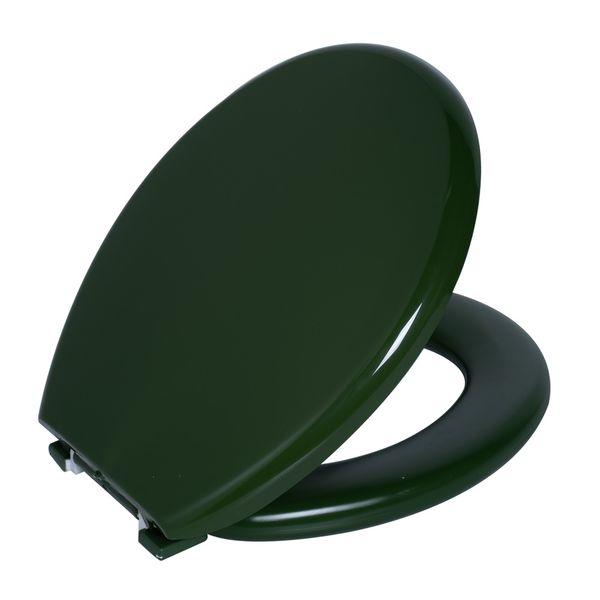 Assento Sanitario Astra Oval Almofadado TPK/AS - Verde 5 (VD5)