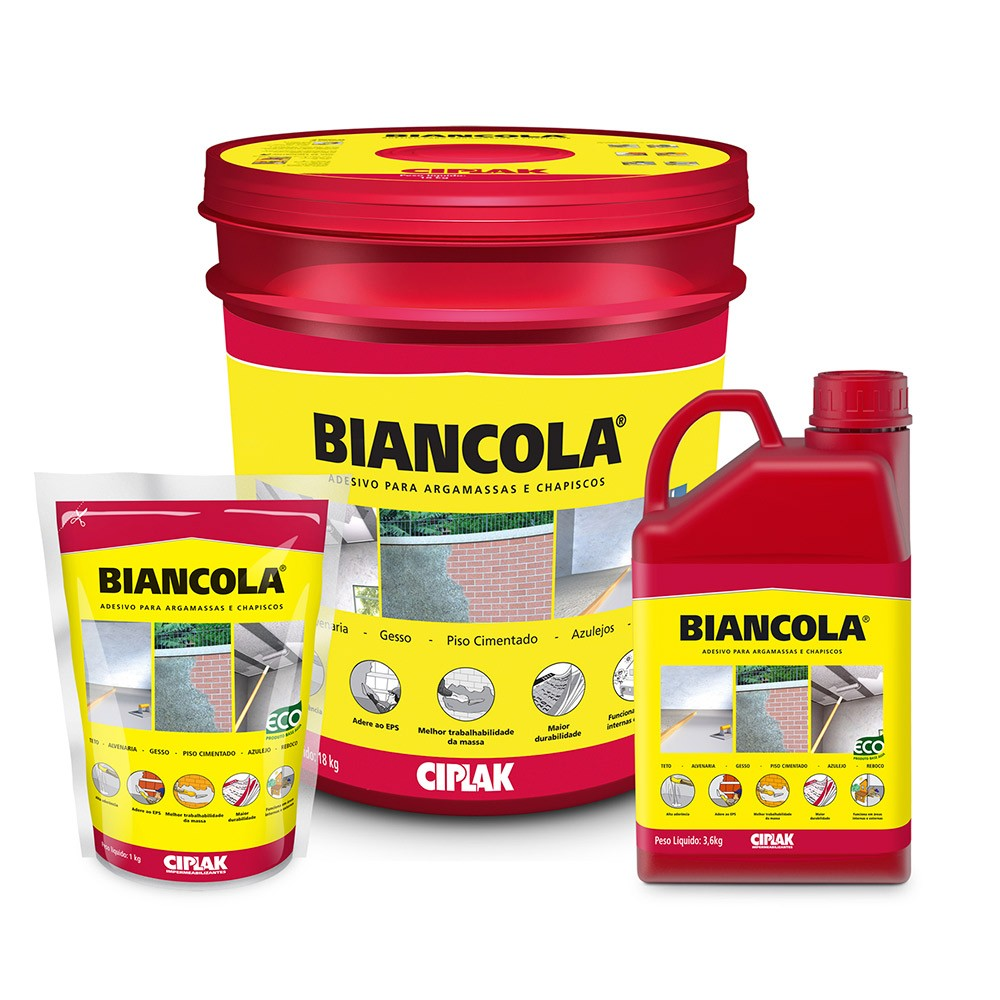 Biancola - Adesivo para Argamassa