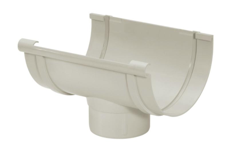 Bocal PVC Pluvial - Cinza