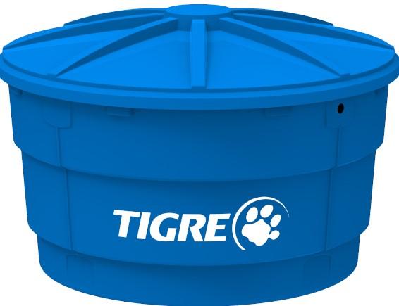 Caixa D'água Polietileno Tigre Litragem: .750L