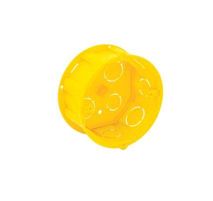 Caixa de Luz Octogonal - Amarela